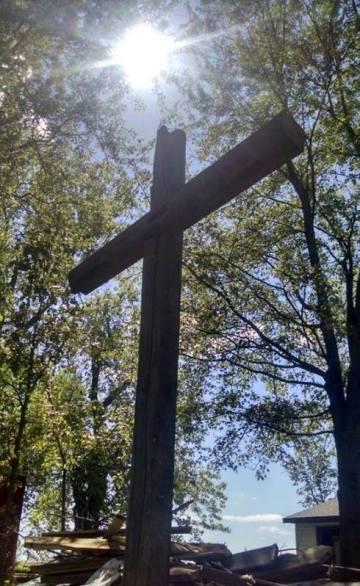 Cross at DP Blenker 3