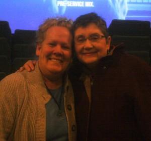Colleen and Rev. Joan (volunteer teacher)