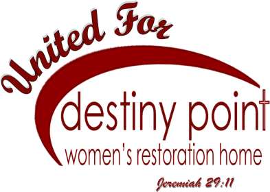 United for Destiny Red Logo with Jer 29-11